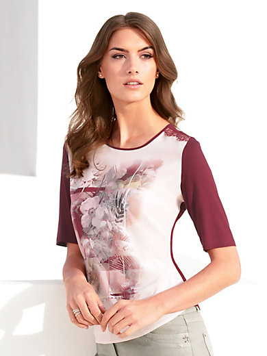 Gerry Weber - Round neck top with 1/2-length sleeves
