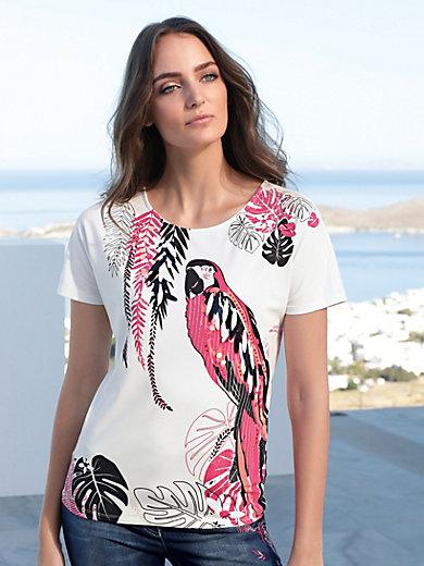 Gerry Weber - Rundhals-Shirt mit Papageien-Print