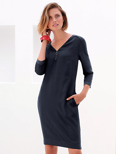 Gerry Weber - V-neck dress with 3/4-length sleeves