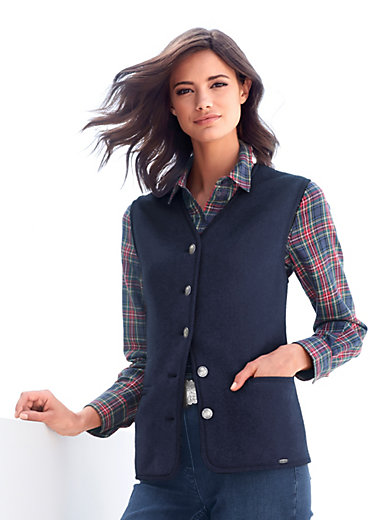 Giesswein - Milled wool waistcoat