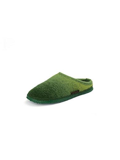 """Giesswein - Slippers """"Notzen"""" made of new milled wool"""