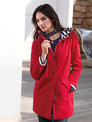 Gil Bret - Lange jas met afknoopbare capuchon