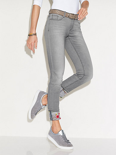 Glücksmoment - Knöchellange Jeans Modell Grace - Grau denim 1dfb269cbb