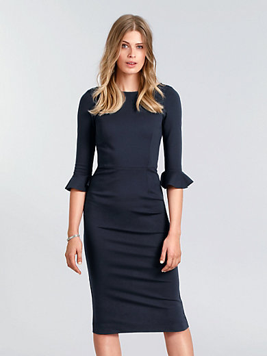 GOAT - Jersey dress with 3/4-length sleeves