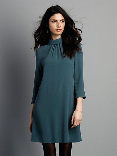 Goat Kleid Mit 34 Arm Petrol