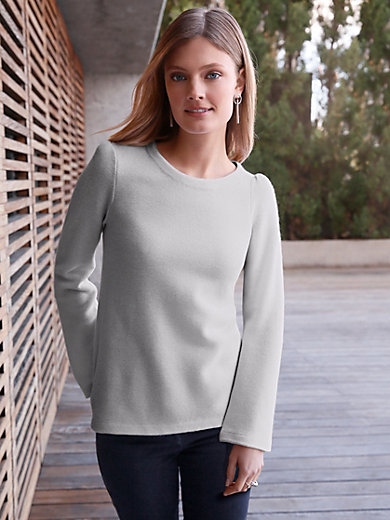 GOAT - Round neck jumper in 100% cashmere