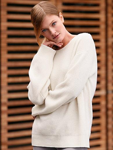 GOAT - Round neck jumper in 100% cashmere