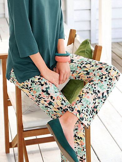 Green Cotton - Full length trousers