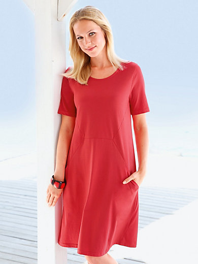 Green Cotton - Jersey-Kleid mit 1/2 Arm