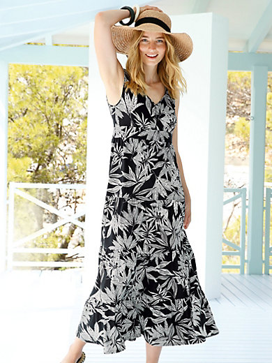 Green Cotton - La robe maxi 100% coton sans manches