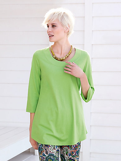 Green Cotton - Lang shirt