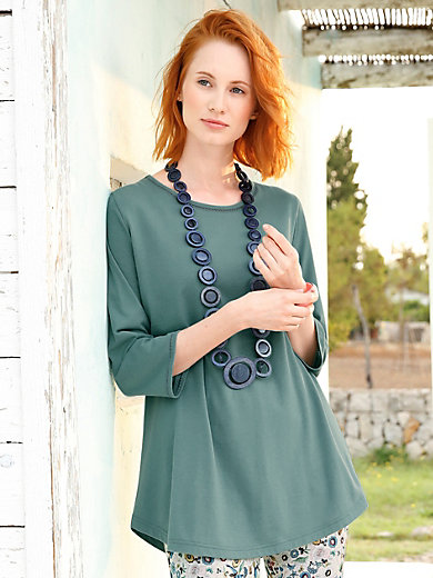 Green Cotton - Le T-shirt 100% coton manches 3/4