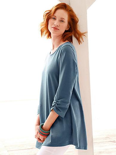Green Cotton - Le T-shirt long 100% coton manches 3/4