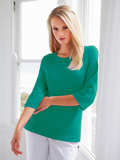 Green Cotton - Round neck top pack of 2