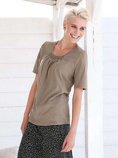 Green Cotton - Shirt. m korte ærmer
