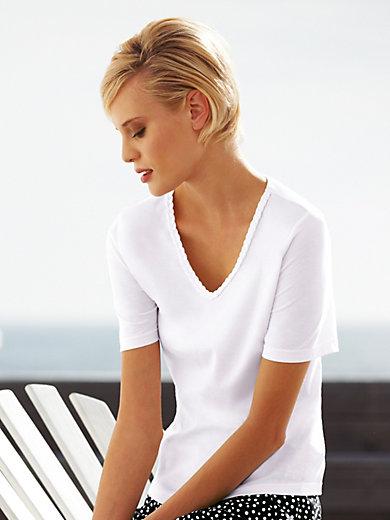 Green Cotton - Shirt met V-hals