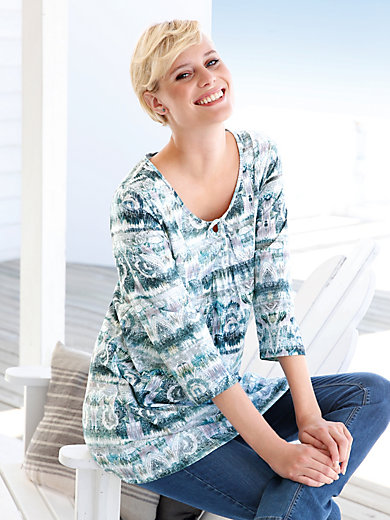 Green Cotton - Tunika-Shirt mit 3/4-Arm