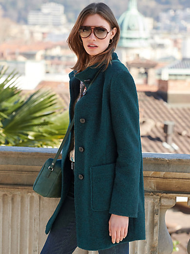 Green Goose - Jacket with stand-up collar