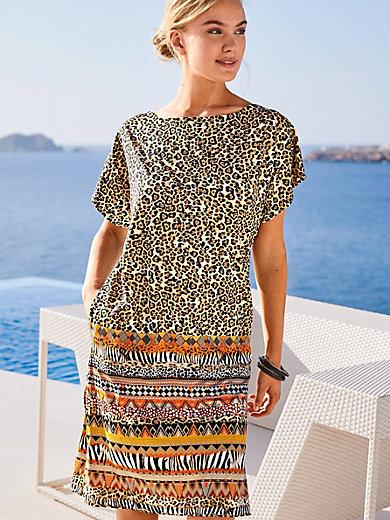 Grimaldimare - Kleid mit überschnittener Schulter