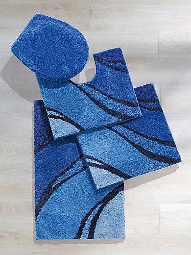 Grund Le Tapis De Wc Suspendu Env 60x60cm Bleu