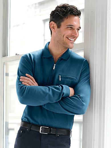 "HAJO - Long-sleeved Polo shirt  ""Stay Fresh"""