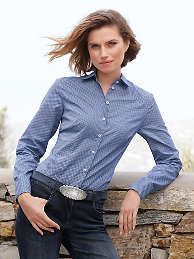 Hammerschmid - Blouse with a shirt collar