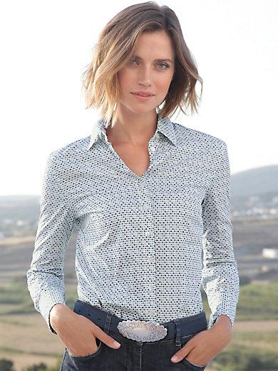 Hammerschmid - Bluse mit Hemdkragen