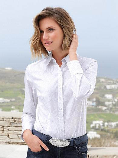 Hammerschmid - Bluse mit kleinen Hemdkragen