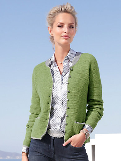 Hammerschmid - Cardigan in 100% wool