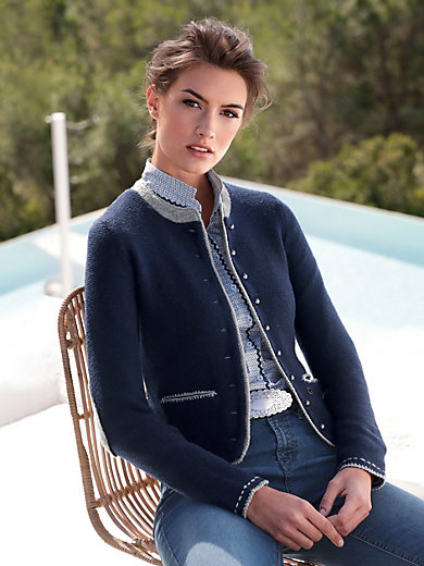 Hammerschmid - Cardigan with elbow patches