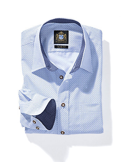 Hammerschmid - Hemd mit Kent-Kragen