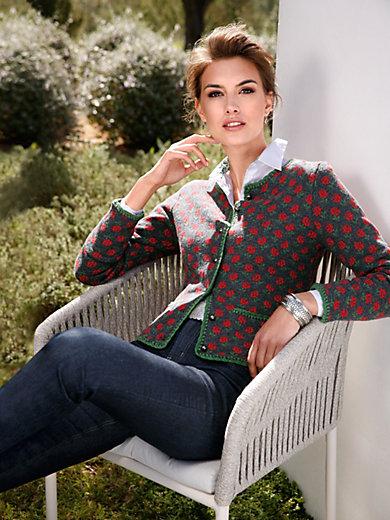 Hammerschmid - Knitted jacket in 100% wool