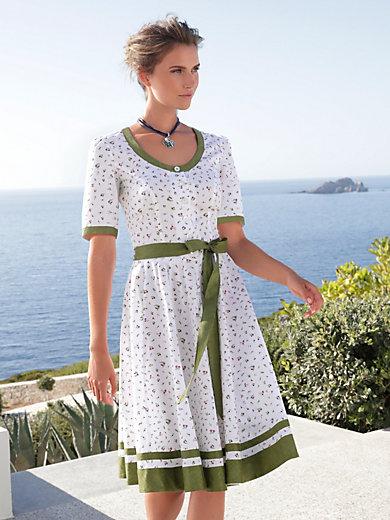 Hammerschmid - La robe en pur coton, buste cintré, jupe évasée