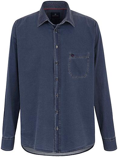 Hatico Sports - Jeans-Hemd mit Kent-Kragen