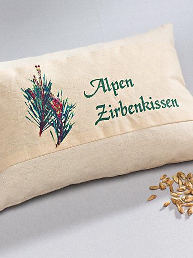 "Himmelgrün - Kräuter-Kissen ""Alpen-Zirben"", ca. 30x20cm"