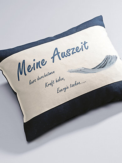 "Himmelgrün - Kräuter-Kissen ""Meine Auszeit"", ca. 30x20cm"