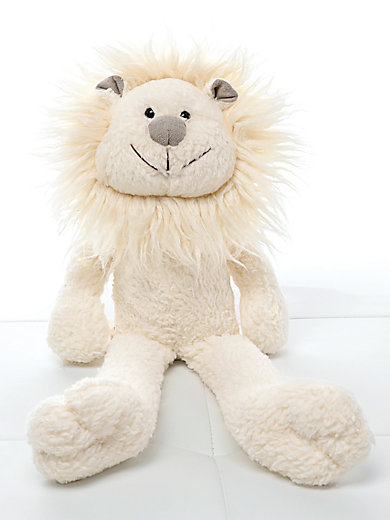 himmelgr n la peluche lion blanc cass. Black Bedroom Furniture Sets. Home Design Ideas