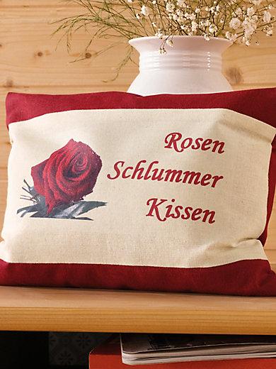 Himmelgrün - Rosen-Schlummer-Kissen, ca. 30x20cm