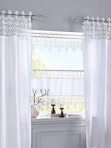 hossner panneaux mit schlaufen ca 100x20cm wei. Black Bedroom Furniture Sets. Home Design Ideas