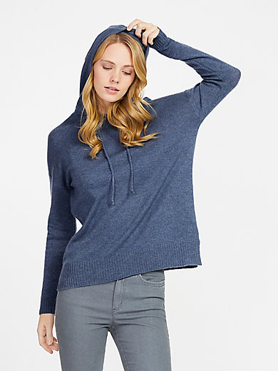 include - Kapuzen-Pullover aus 100% PREMIUM Kaschmir