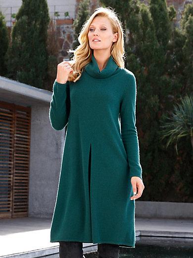 include - La robe trapèze en pur cachemire, col roulé