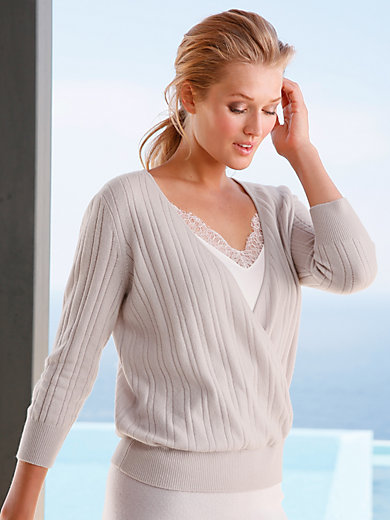 include - Le pull 100% cachemire manches 3/4