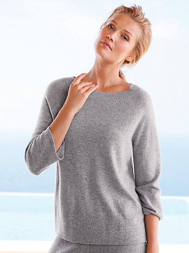 include - Le pull 100% cachemire manches 7/8