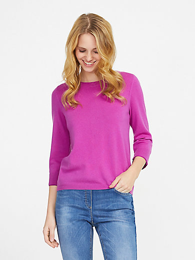 include - Le pull manches 3/4 100% cachemire