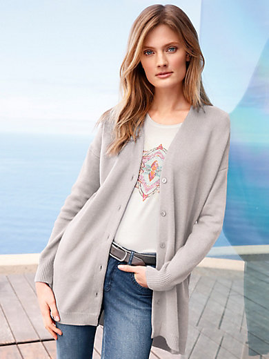 include - Long cardigan in Pure cashmere in premium quality