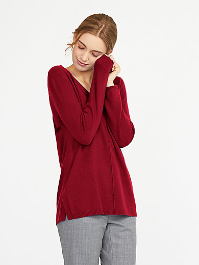 include - pullover in 100% cashmere