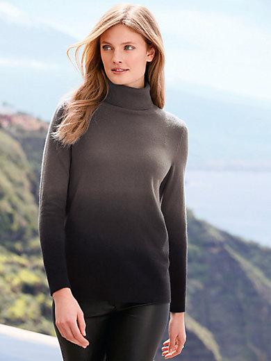 include - Rollkragen-Pullover aus 100% PREMIUM Kaschmir