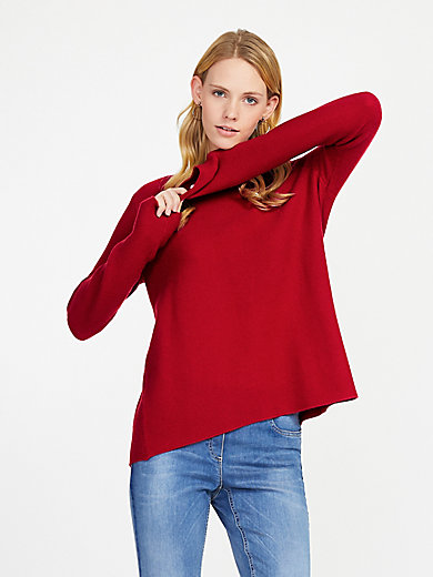 include - Round neck jumper in Pure cashmere in premium qual