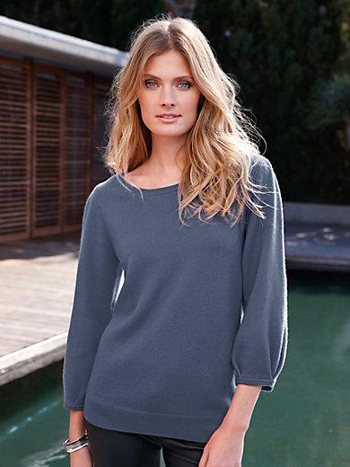 include - Rundhals-Pullover aus 100% PREMIUM Kaschmir