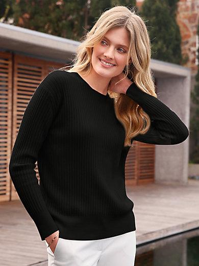 include - Rundhalsad tröja i 100% kashmir i Premium-kvalitet